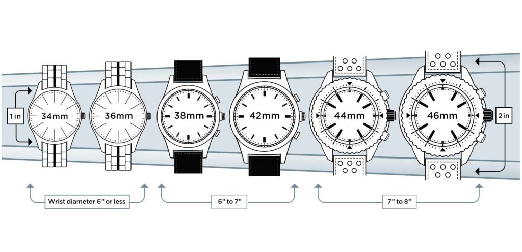 watch size