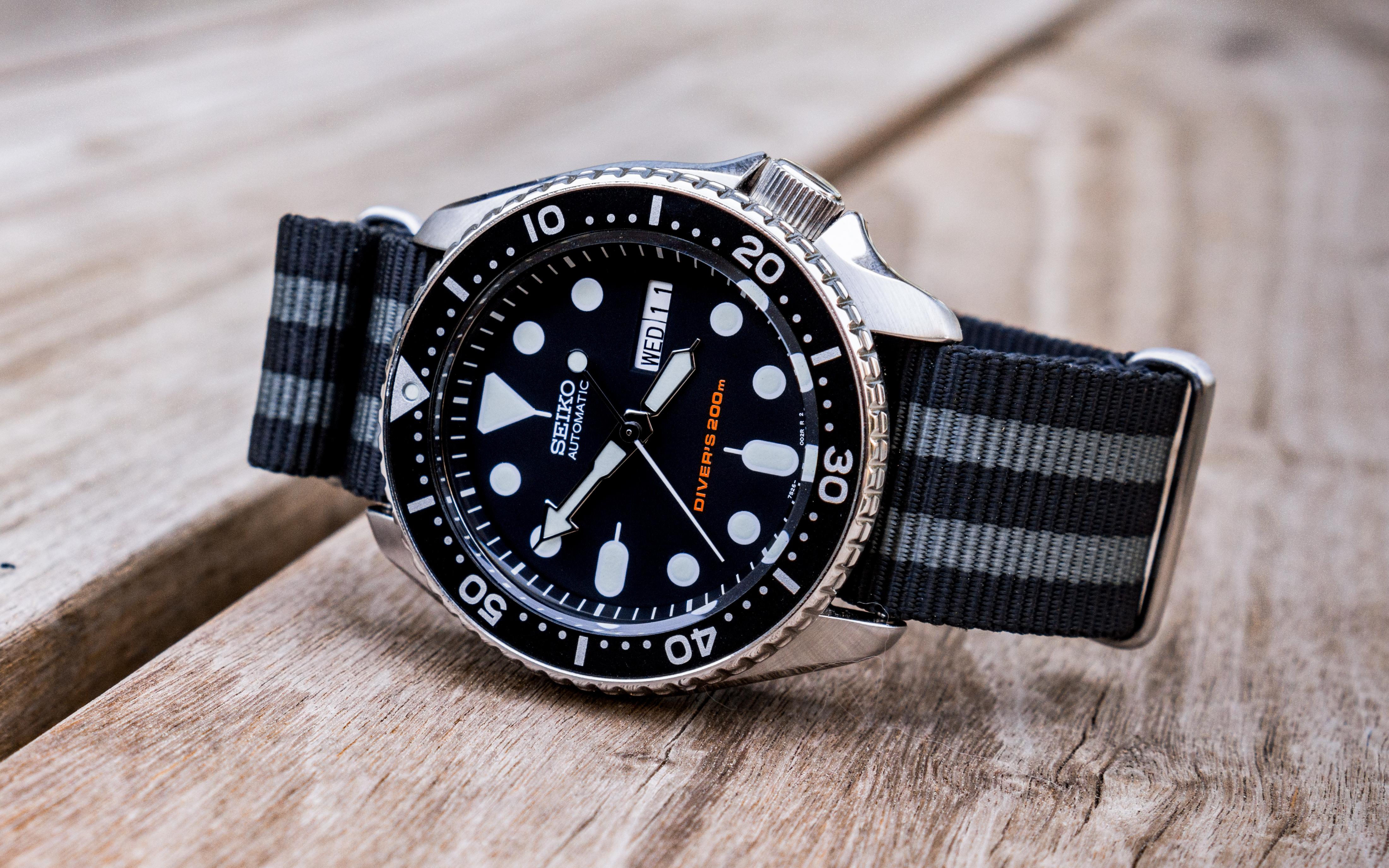 セイコーの時計「SKX007」