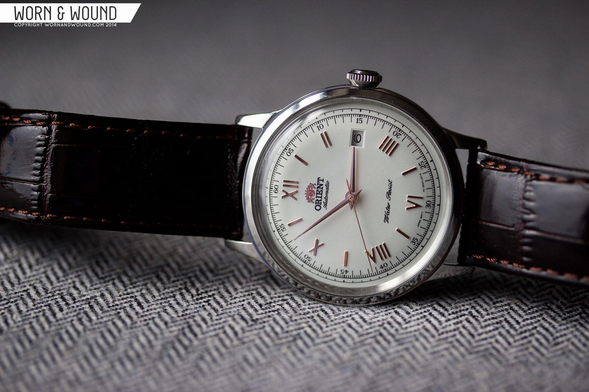 オリエントの時計「バンビーノ」