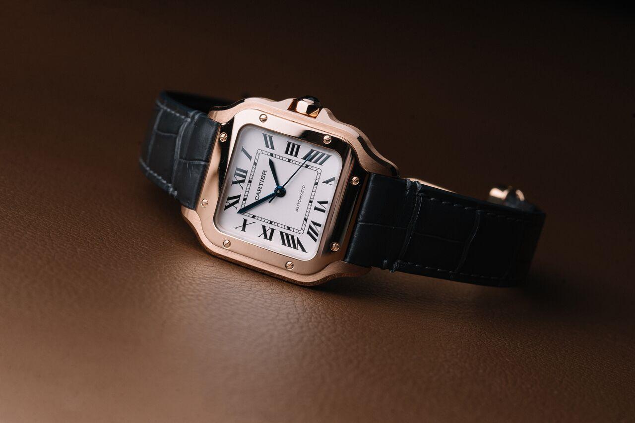 カルティエの時計「サントス」