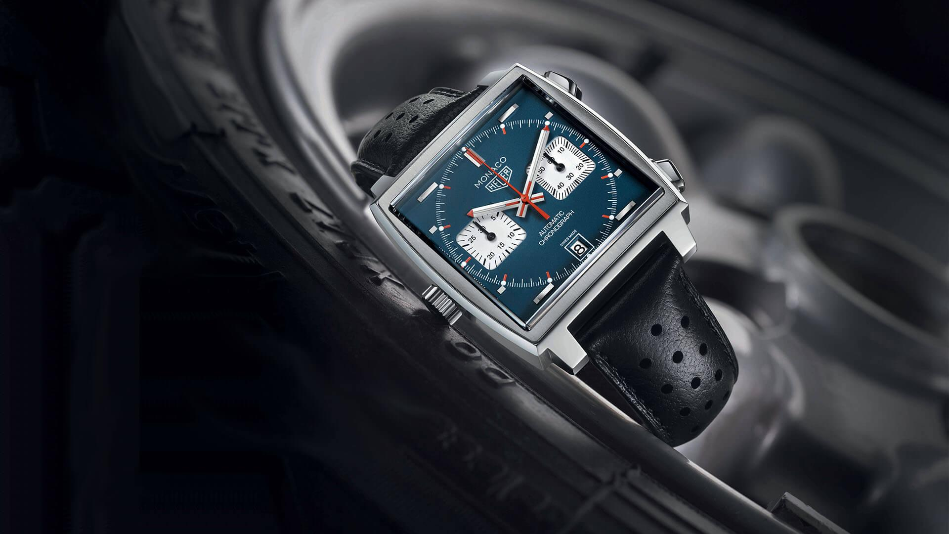 タグホイヤーの時計「モナコ」