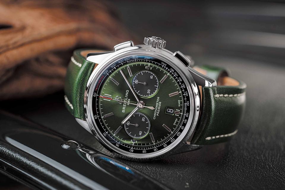 ブライトリングの時計「プレミエ」
