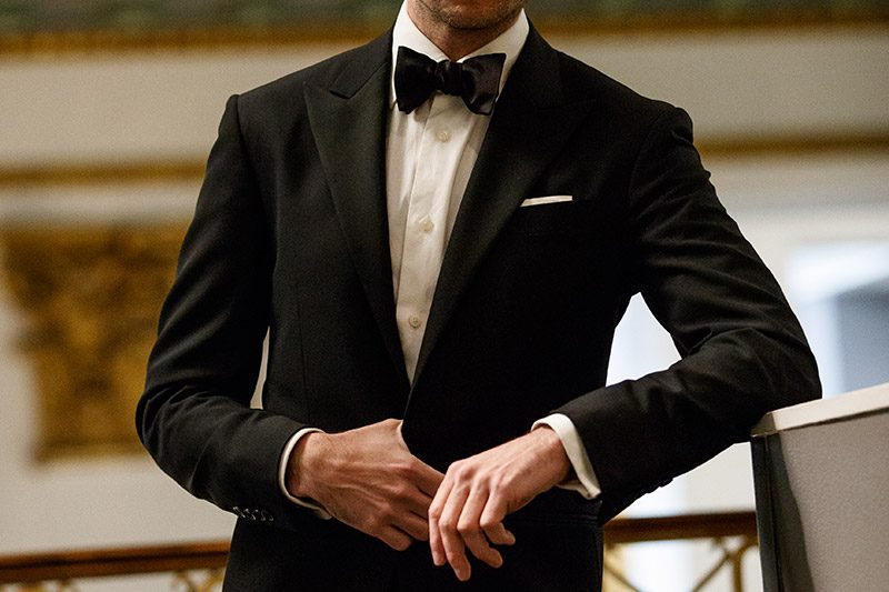 mens black tie