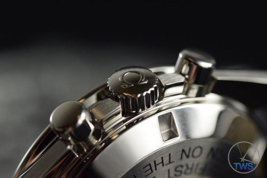 chronograph pusher